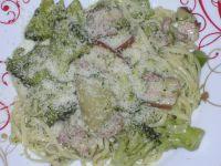 Linguini et grana padano