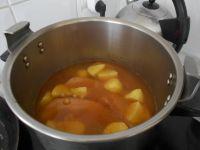 2ème cuisson des pois chiches avec le reste des ingrédients