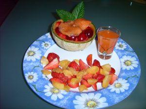 Votre dessert, frais et raffraîchissant.