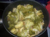 Mousse de brocolis aux pommes
