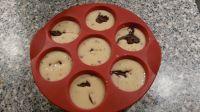 muffin à la ate à tartiner