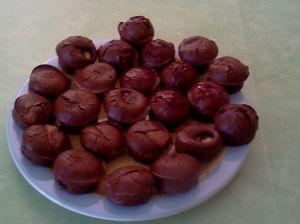 Muffins après cuisson, moelleux à coeur