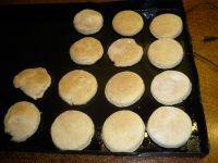 Muffins cuits mais pas grillés