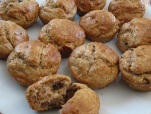 Muffin sans gluten sans sucre banane