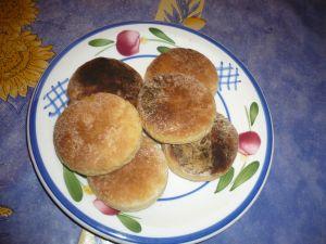 muffins, pâtisserie anglaise pour le thé