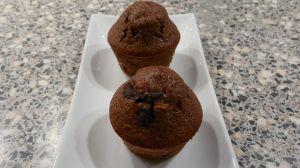 muffins chocolat aux pépites