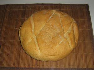 pain rond au sesam