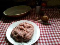 Paté avant cuisson