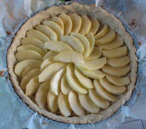 Pâte à tarte sucrée aux amandes