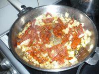 pâtes aux tomates à l'huile