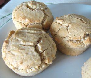 Petits pains blonds sans gluten