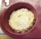 petits pains dans moule à muffin