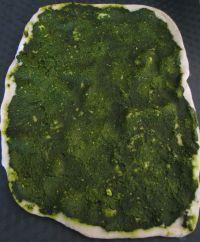 pizza au vert de blettes