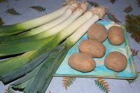 Poireau, pommes de terre