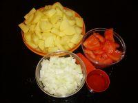 ingrédients des pommes de terre roties