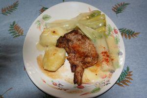 un plat vite fait et qui tient au corps, surtout l'hiver.