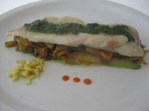 Vous pouvez agrémenter le plat de gingembre frais et de sauce piquante