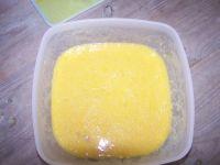Préparation du cake salé