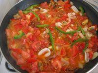 préparation de la paella