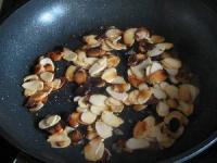 Préparer les amandes grillées