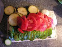 préparer les légumes d'été