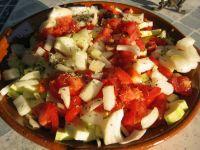 préparer les légumes pour la plancha