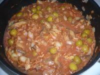 préparer le mélange thon tomate