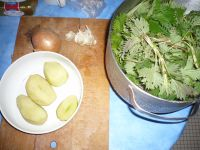 Préparer la soupe d'orties