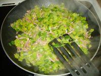 préparation des poireaux