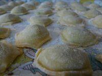Raviolis gorgonzola et épinard