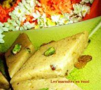 recette de gateau indien : le BARFI