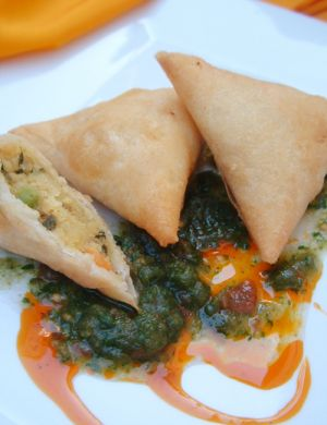 Recette indienne Samosa aux légumes