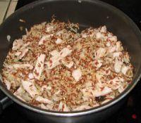recette du risotto avec lanières de porc