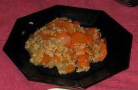 Riz aux carottes et radis