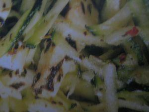 salade de courgette