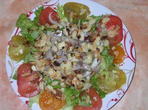 salade de hareng aux pommes