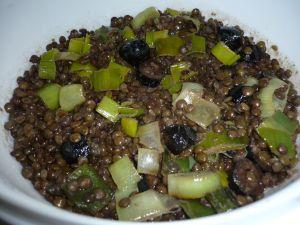 Salade de lentilles orthodoxe