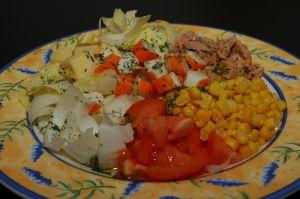 Salade thon surimi