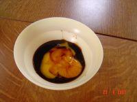sauce jaune d'oeuf et vinaigre balsamique