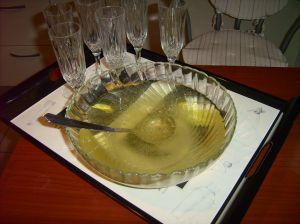 préparation de la boisson apéritif