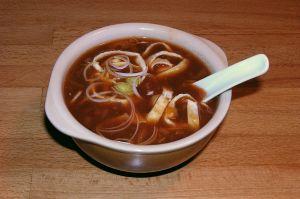 soupe chinoire à la tomate