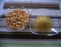 Soupe de poireaux et pois chiches