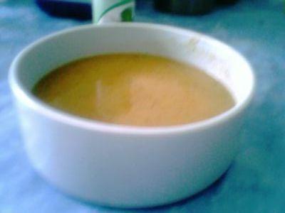 La soupe est prête à être dégustée