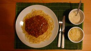 Spaghetti bolognaise/pastaciutta