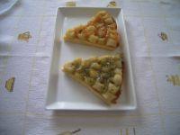 tarte bananes ou kiwis