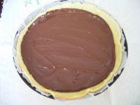 Tarte chocolat noir cerises