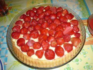 Tarte aux fraises ou framboises