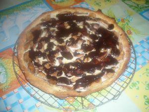 tarte aux poires et nutella hypocalorique