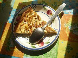tarte aux pommes hypocalorique