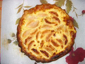 Une tarte aux pommes appetissante...